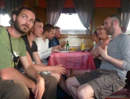 Day 2 or 3 on trans-siberian