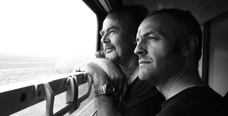Now Garry and Trevor contemplate the Gobi