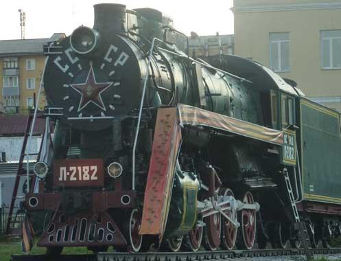Old Soviet train