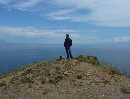 Pondering...Lake Baikal, Russia